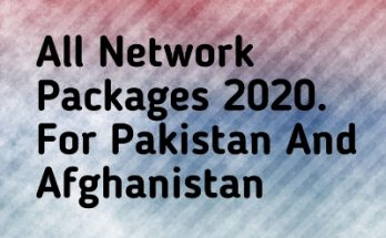 All Network Packages 2020