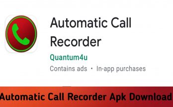 Automatic Call Recorder Apk Download