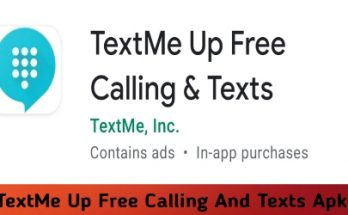 TextMe Up Free Calling And Texts Apk