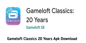 Gameloft Classics 20 Years Apk Download
