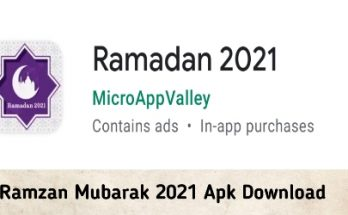 Ramzan Mubarak 2021 Apk Download